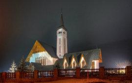 Kościół parafialny pw. Miłosierdzia Bożego na Cyrhli
